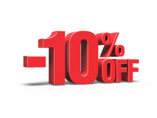 Скидка 10% на заказы
