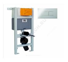 Инсталляция д/унит Expert кнопка Karisma хром глянц OLI 004599 (пневм)