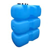 Танк для топлива 1000 л с крышкой и сливом  Синий Т1000КЗ