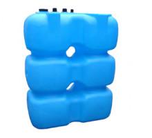 Танк для топлива 1500 л с крышкой и сливом Синий Т1500КЗ
