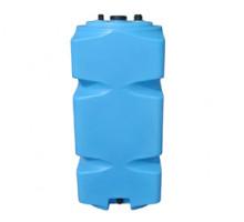 Танк для топлива 500 л вертикальный с крышкой и сливом Синий Т500ВКЗ