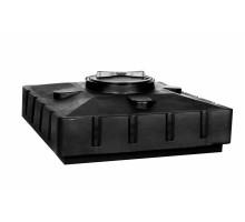 Бак д/душа 240 (черный) (950х950х440)