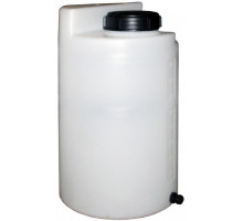 Дозировочный контейнер 100 л с крышкой и заглушкой Белый ДК100К3