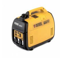 Генератор инверторный GT-2200iS, 2,2 кВт, 230 В, бак 4 л, закрытый корпус, ручной старт// Denzel