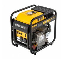 Генератор инверторный GT-3500iF, 3,5 кВт, 230 В, бак 5 л, открытый корпус, ручной старт// Denzel