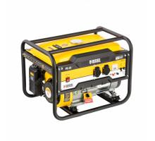 Генератор бензиновый PS 33, 3,3 кВт, 230В, 15л, ручной стартер// Denzel