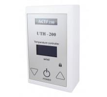 Терморегулятор накладной сенсорный UTH-200 (4KW) WHITE
