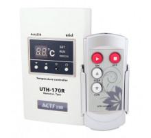 Терморегулятор накладной программируемый, с пультом Д/У UTH-170 R (4KW)