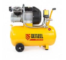 Компрессор воздушный PC 2/50-350, 2,2 кВт, 350 л/мин, 50 л// Denzel