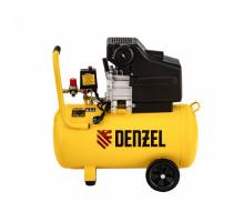 Компрессор воздушный прям. привод DC1700/50, 1,7 кВт, 50 литров, 260 л/мин// Denzel