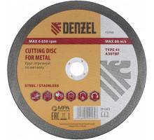 Диск отрезной 115 х 1,2 х 22,2 мм,по металлу, WA60TBF// Denzel