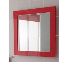 """Зеркало """"Сакура"""" 90см, красный со светодиодной подсветкой (код 26606)"""