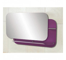 "Зеркало ""Адажио""  80 см  фиолетовое, светодиод.подсветка (код 27402)"