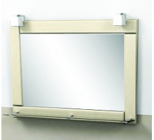 """Зеркало """"Гермес"""" 75 см, светильник декоративный 2шт, выбеленный дуб(код 26090)"""