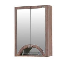 Зеркало-шкаф «ПИЛЛАУ» 60см цвет темный янтарь, арт.2-140-025-O