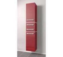 """Шкаф-колонна подвесная """"Сакура"""" 35 см с 2-мя ящиками, красный (код 26608)"""