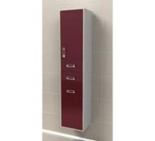 """Шкаф-колонна подвесная """"Рондо"""" 34см с 2-мя ящиками, красный (код 27405)"""