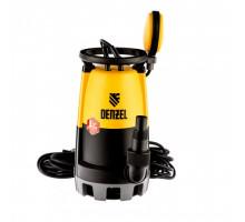 Дренажный насос DP-900S, 900 Вт ( 18 м³ напор 9 м ) Denzel