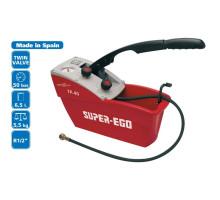 Ручной опрессовочный насос для испытания давлением 0-50 бар TR 40-S Super EGO