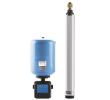 Система водосн. ЧАСТОТНИК с насосом Водомёт 115/75 ч (Кабель-70 М)