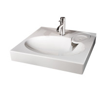 Раковина Comfort 600х545 для ванной комнаты для установки над стиральной машинкой