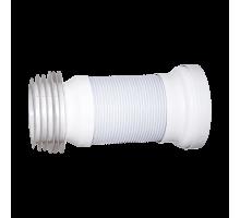 Слив раздвижной для унитаза армированный L=270-550мм ОРИО (С-996)