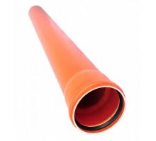 Труба наружная гладкая Пиарком 110х0,5 м (2.7)