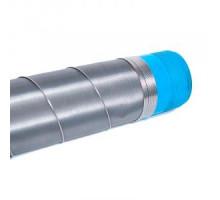Фильтр с нерж сеткой ПНД 110 галунного плетения, 3000мм