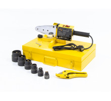 Аппарат для сварки пластиковых труб DWP-1500, 1500Вт, 260-300 град., 6 насадок, 20 - 63 мм// Denzel