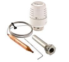 Термоголовка VALTEC с выносным погружным датчиком и гильзой (диап. Регул-ки 20-60С) 2м. VT.5011.0.0