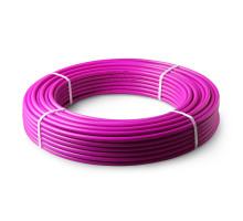 Труба PE-Xa/EVOH универсальная 3-хслойная с кисл.барьером 20х2,8 (бухта 100м) цвет фиолетовый