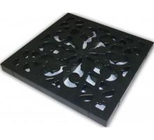 Решетка пластиковая декоративная к дождеприемнику (черный)
