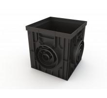 Дождеприемник пластиковый 300х300 (черный)