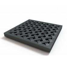 Решетка пластиковая усиленная к дождеприемнику (черный)