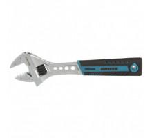 Ключ разводной, 200 мм,CrV, двухкомпонентная ручка // Gross
