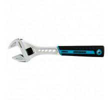 Ключ разводной, 250 мм,CrV, двухкомпонентная ручка // Gross