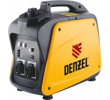 Генератор инверторный GT-2100i, X-Pro 2,1 кВт, 220В, бак 4,1 л, ручной старт // Denzel