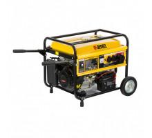 Генератор бензиновый GE 6900E, 5,5 кВт, 220В/50Гц, 25 л, электростартер // Denzel