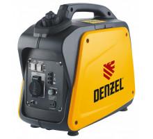 Генератор инверторный GT-1300i, X-Pro 1,3 кВт, 220В, бак 3 л, ручной старт // Denzel