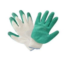 Перчатки с латексным налодонником (облив) 45 гр.