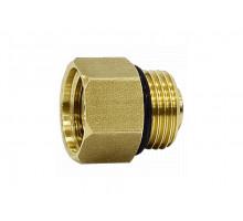 """Клапан для воздухоотводчика с фильтром 1/2""""-1/2"""" НР-ВР (LL6545 1/2-1/2"""")+ шайба нерж."""