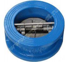 Клапан чугунный межфланцевый СВ3448 Ду 150 Ру 16 2/створ Tecofi