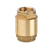 Клапан обратный латунь 3002 Ду 50 Py 25 ВР пружинный с лат/штоком Aquasfera 3002-06