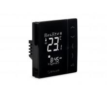 Термостат беспроводной цифровой 230V, встраиваемый (черный) (VS10BRF)