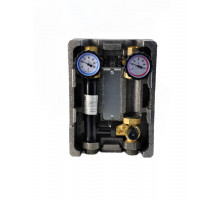 "Группа быстрого монтажа BMU-C-40-25-NP NED Thermo InstallHEAT с 3-х ходовым смесителем 1"" без насоса"
