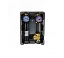 "Группа быстрого монтажа BMU-T-40-25-NP NED Thermo InstallHEAT с термостатическим смесителем 1"" без н"