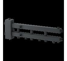 Гидравлический разделитель горизонтальный совмещенный с коллектором Модуль М4
