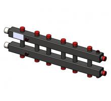 Гидравлический коллектор горизонтальный, 7 контуров