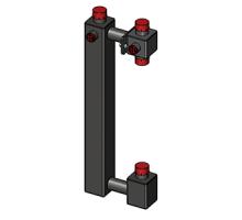 Корпус насосного модуля  (для насоса 180 мм)