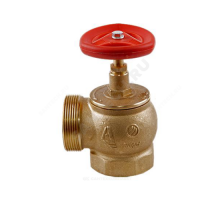 Клапан пожарный лат Ду50 Ру16 ВР/НР 90 гр Апогей КПЛМ 50-1 110009